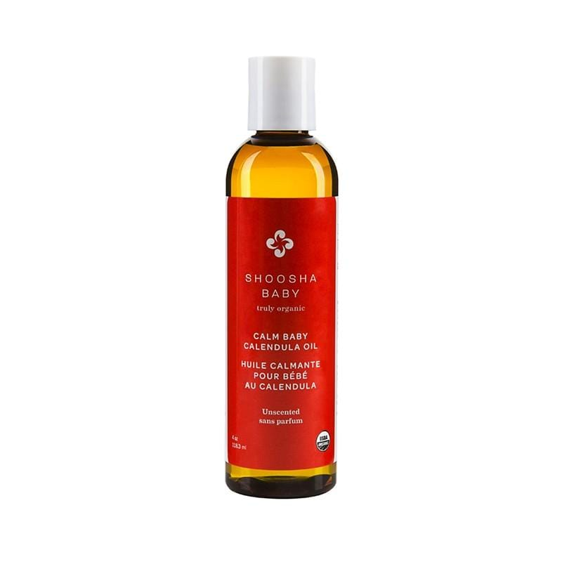 Shoosha Baby Canada- Calm Baby Calendula Oil- Unscented 加拿大Shoosha Baby舒緩保濕金盞花按摩油(無味)