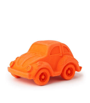Oli & Carol Barcelona- Carlito Beetle Car Teether-Orange 西班牙Oli & Carol天然橡膠牙膠及沖涼玩具