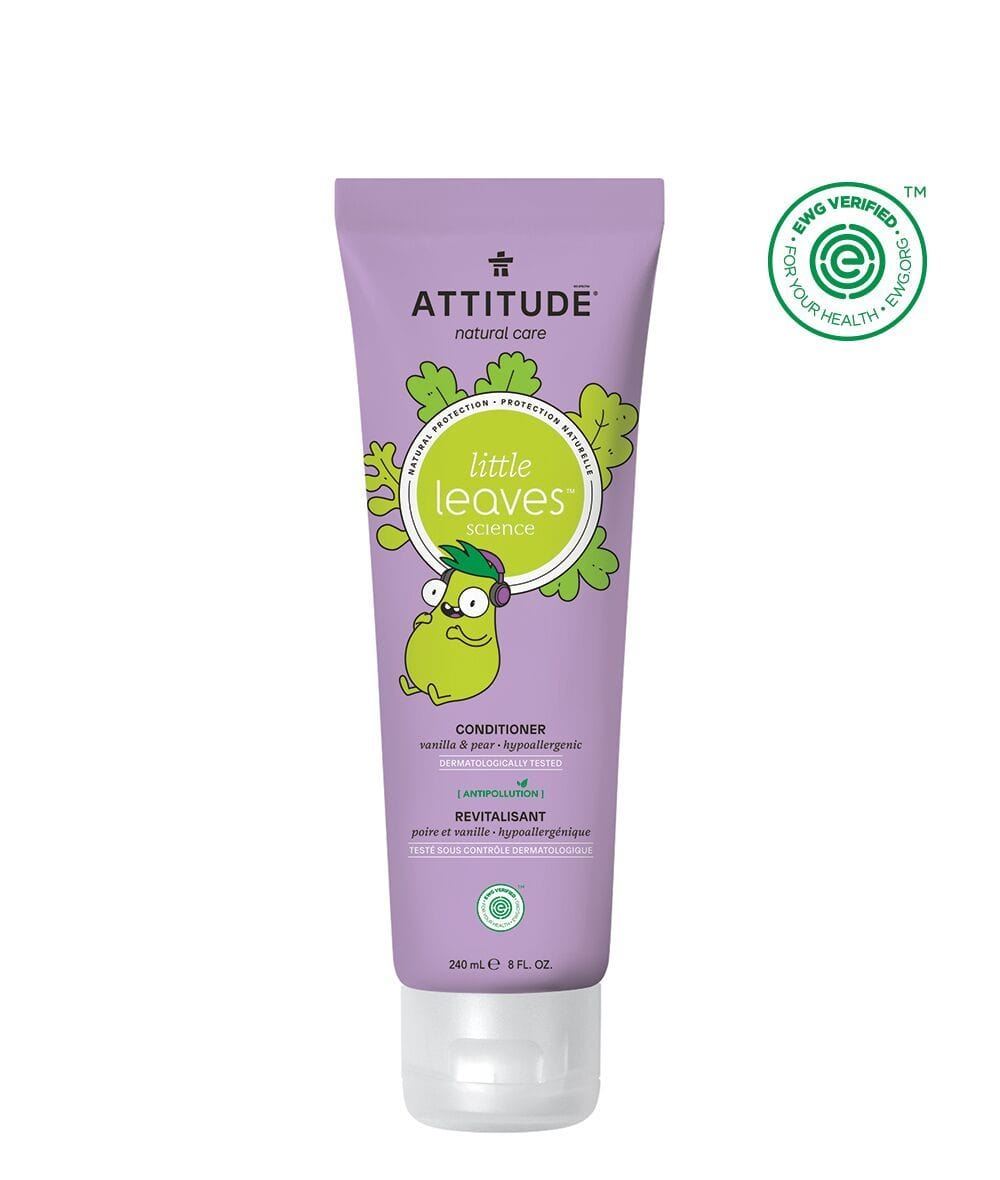 Attitude Canada- Little Leaves Conditioner- Vanilla & Pear 240 ml(兒童護髮素-雲呢拿+梨味)