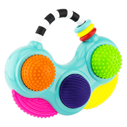 Sassy Baby USA-Do-Re-Mi Textured Tunes Toy