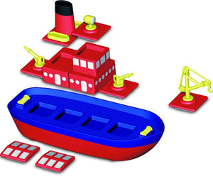 Popular Playthings Magnetic Build-A-Boat 美國Popular Playthings磁石配對拼砌玩具-船