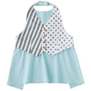 Marl Marl Japan Stripes and Polka Dots Apron Bib 日本品牌型格口水巾