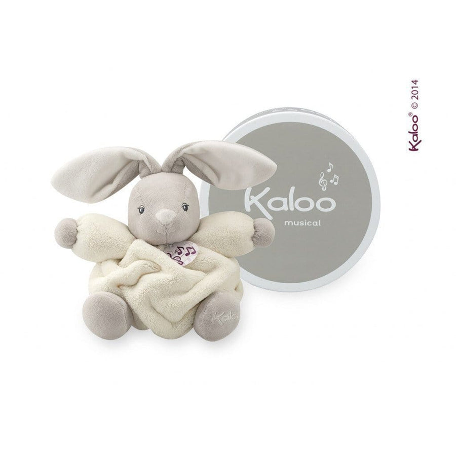 Kaloo France- Plume Cream Chubby Rabbit Musical Bear 法國品牌Kaloo (音樂小兔)(米黃色)