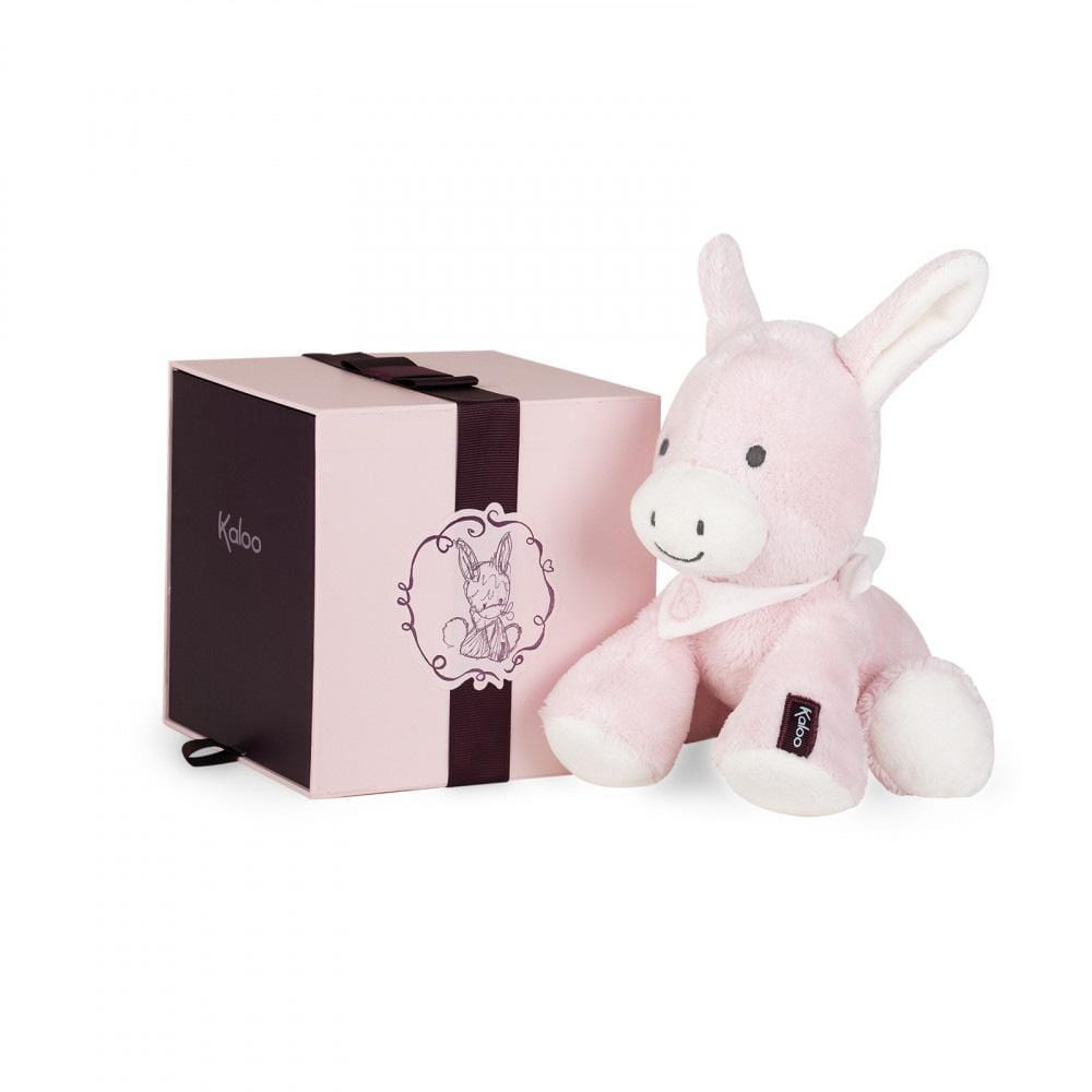 Kaloo France- Regliss Donkey Small 19cm - Pink 法國品牌Kaloo 小盧馬(粉紅色)