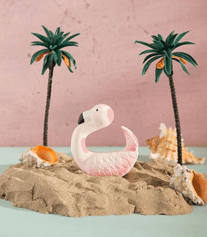 Oli & Carol Barcelona -SKY THE FLAMINGO Chewable Bracelet 西班牙Oli & Carol天然橡膠手鐲式牙膠