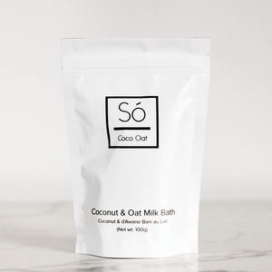 So Luxury Canada- Coco Oat Milk Bath- Small 100g