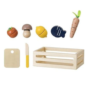 Bloomingville Denmark-  Toy Food, Nature, Plywood 丹麥品牌木製廚房食物玩)