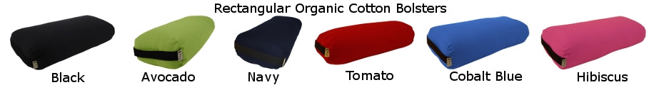 Organic Yoga Bolster-Rectangle