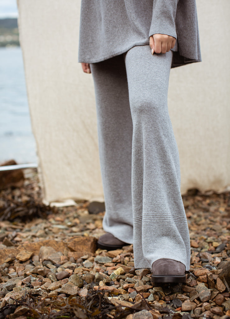 Via pants wool