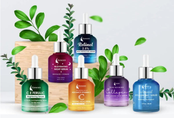 Plant-based Facial Serums