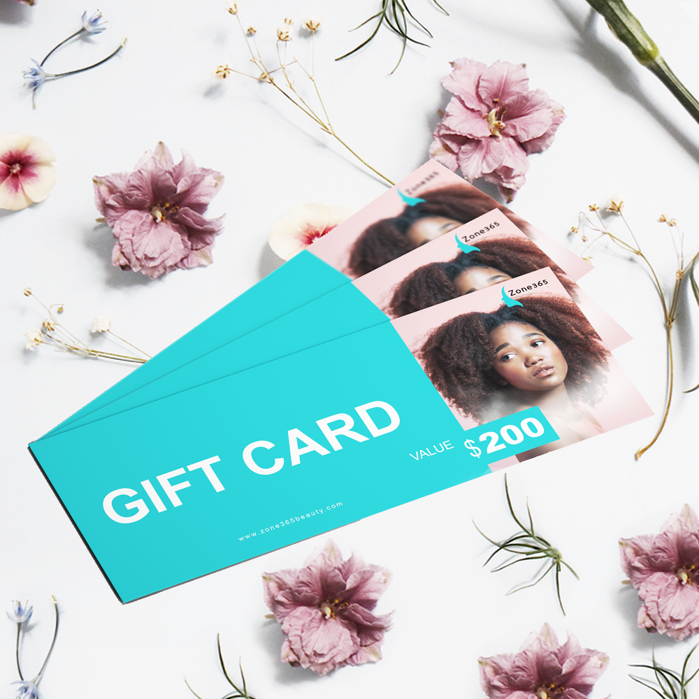 Zone 365 Beauty Gift card