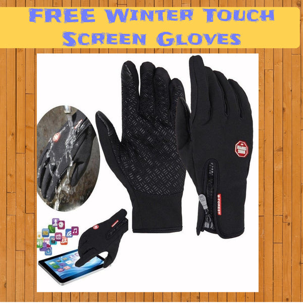 FREE Winter Touch Screen Gloves