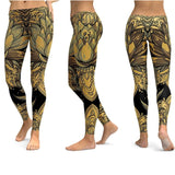 Yoga Leggings With Special Print