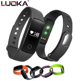 Fitness Tracker Smart Watch - Bluetooth Smart Bracelet With Heart Rate Monitor