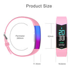 Smart Bracelet Fitness Tracker - Blood Pressure And Heart Rate Monitor Smart Watch