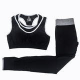 Yoga Sets Fitness Sport Bra+Yoga Pants Leggings Set