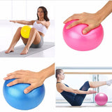 Two Mini Yoga Balls - Gray And Purple For 14.95$ Only
