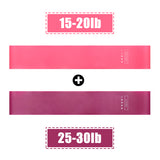 FREE 4 Colors Yoga Resistance Rubber Bands