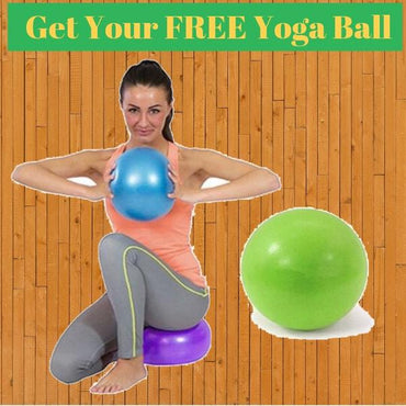🎁 FREE YOGA AND PILATES FITNESS BALL🎁