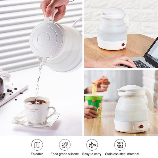 Portable Silicone Electric Kettle