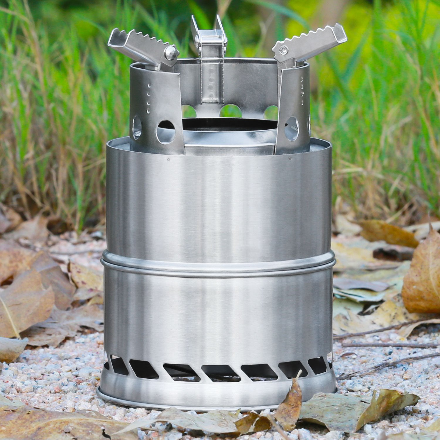 Portable Stainless Steel Wood Burning Stove