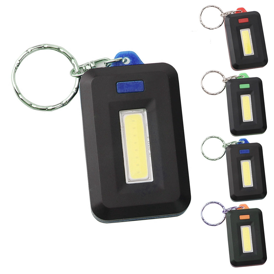 Mini Flashlight Practical Multipurpose Outdoor Keychain Flashlight for Camping