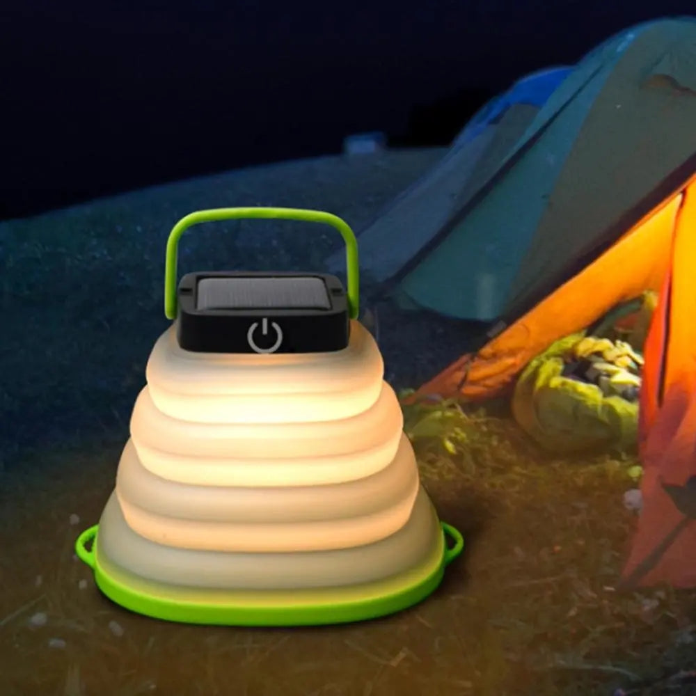 Solar Portable LED Camping Lamp