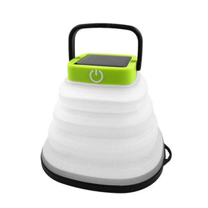 Open image in slideshow, Portable Waterproof Collapsible Solar LED Lantern