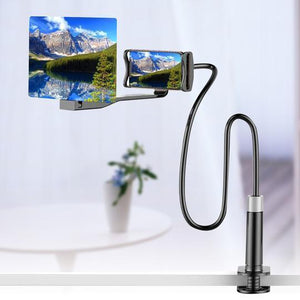 Open image in slideshow, 2 in 1 Mobile Phone HD Projector + Bracket Stand