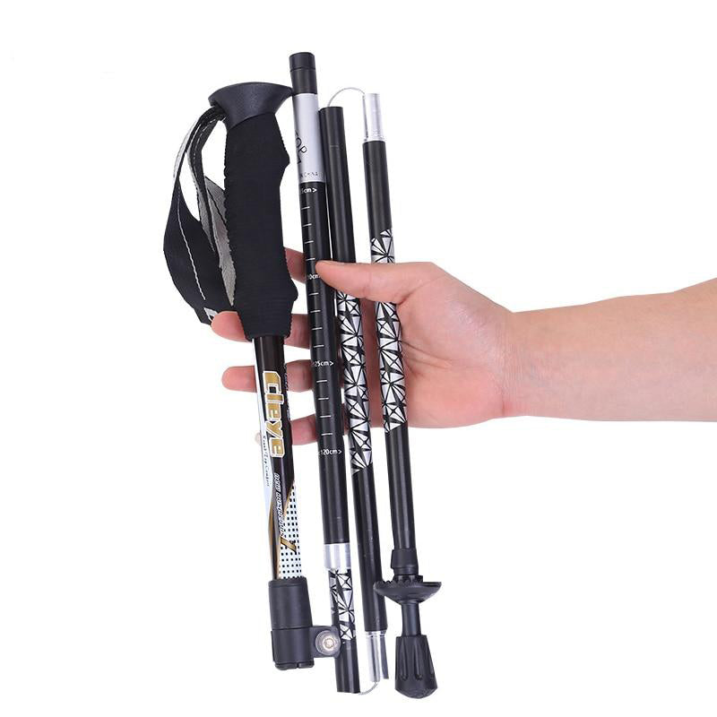 Professional Foldable Trekking Pole 2 pcs