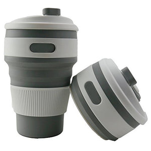 Open image in slideshow, Collapsible Cup Carry-on Drinkware for Outdoor living Camping Hiking