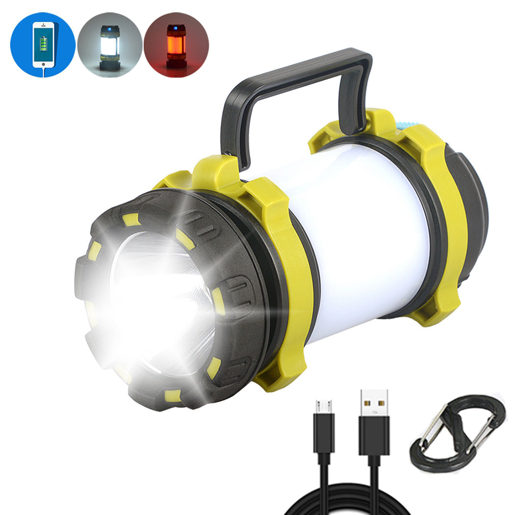 Waterproof Powerful Camping Lantern + Power Bank