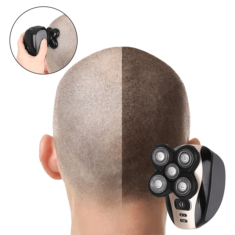 5-in-1 Electric Head Shaver