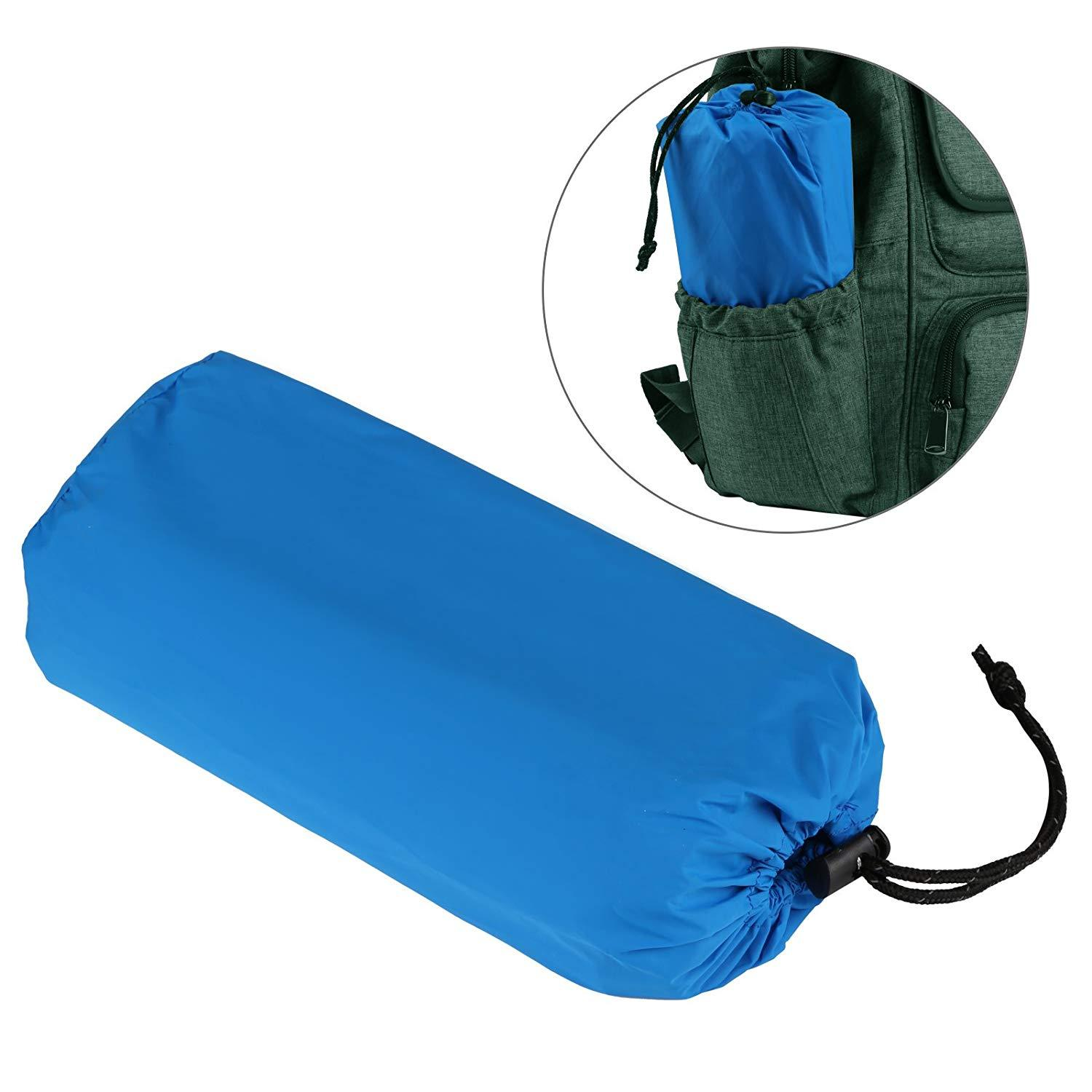 Ultralight Outdoor Camping Mat with Lightweight Pillow Outdoor Suitable for Sleeping Inflatable Cushion Tent Carpet Suitable
