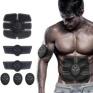 Open image in slideshow, Smart Electric Pulse Treatment Massager Abdominal Muscle Stimulator