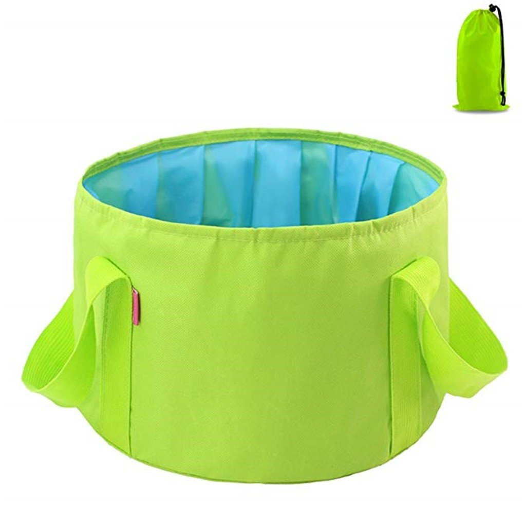 Foldable Basin Leakage-proof Camp Sink Picnic Vegetables Basin Travel Footbath Foot Soak Basin Washbasin Fishing Bucket 15L - Online Shopping Center - Top New Products Retailer - Pick Unlimited