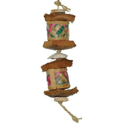 Java Wood Surprise Drum Bird Toy