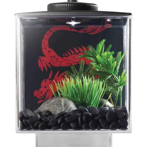 Betta Cube With Led Light