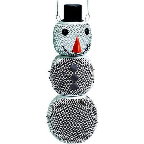 No/no Snowman Wild Bird Feeder