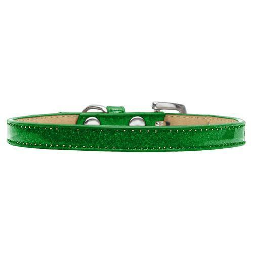 Confetti Ice Cream Dog Collar - Emerald Green