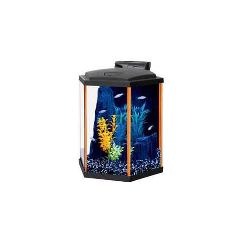 Aqueon Neoglow Aquarium Kit Hexagon