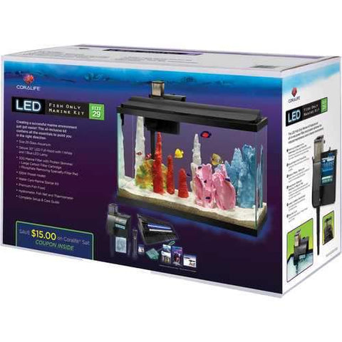 Coralife Led Marine Kit