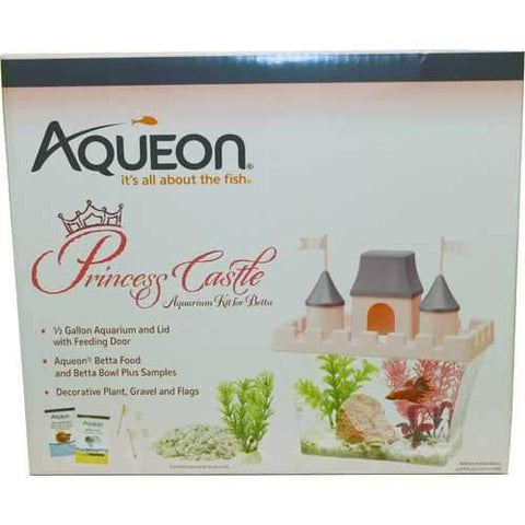 Princess Castle Betta Aquarium Kit
