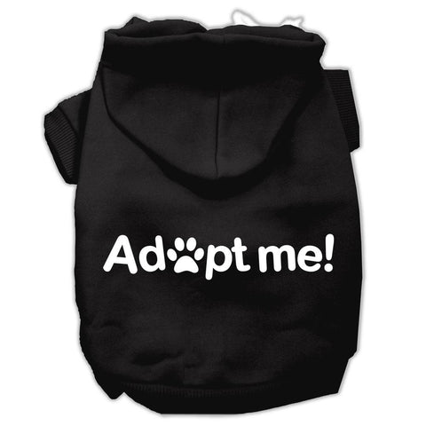 Adopt Me Screen Print Pet Hoodies Black Size Lg (14)
