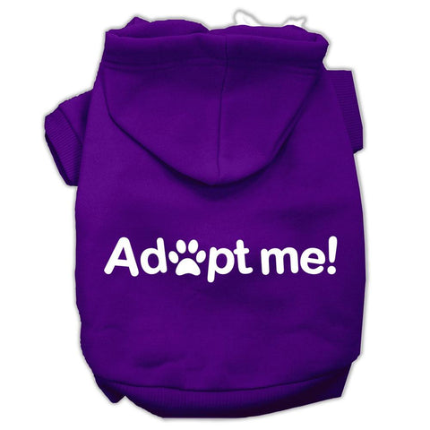 Adopt Me Screen Print Pet Hoodies Purple Size Lg (14)