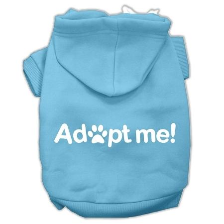 Adopt Me Screen Print Pet Hoodies Baby Blue Size XL (16)