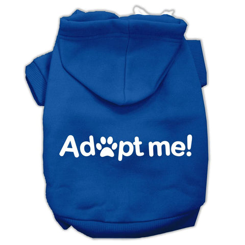 Adopt Me Screen Print Pet Hoodies Blue Size XS (8)