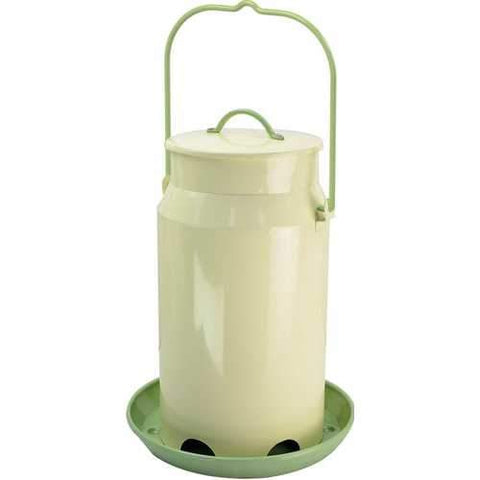 Perky Milk Pail Hopper Feeder