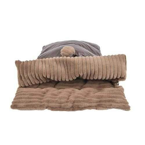 Northstar Dog Sleeping Bag By Puppia Life - Brown
