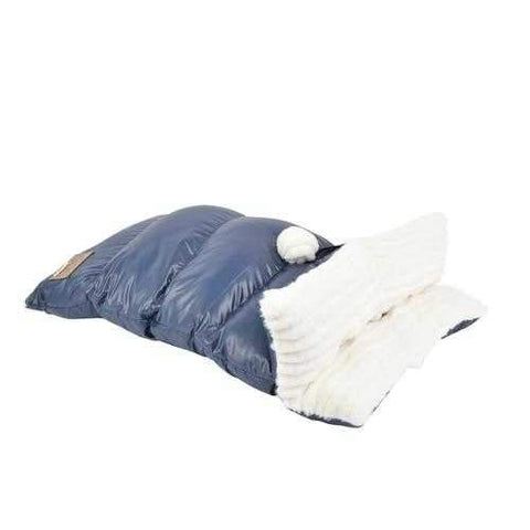 Northstar Dog Sleeping Bag By Puppia Life - Navy